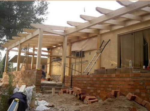Trabajos estructuras de madera teula i fusta - Estructuras de madera para tejados ...